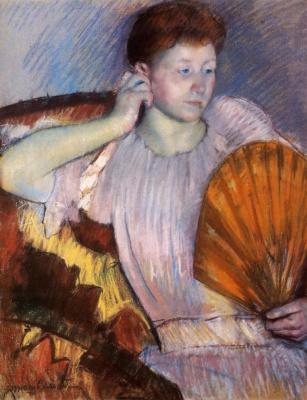Mary Cassatt. Contemplation