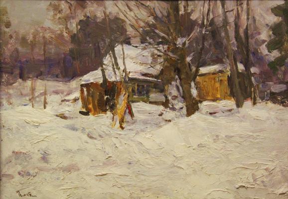 Владимир Георгиевич Гремитских. Избушка