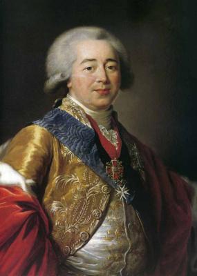Elizabeth Vigee Le Brun. Portrait of Prince Alexander Borisovich Kurakin