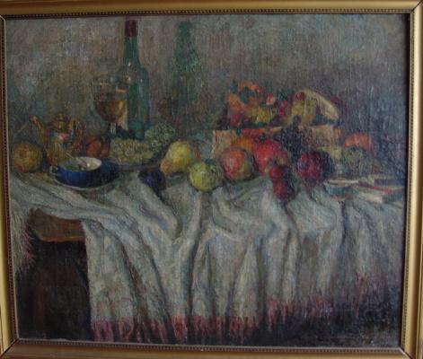 Vladimir (Voldemar) Alexandrovich Eyfert. Still life with fruits