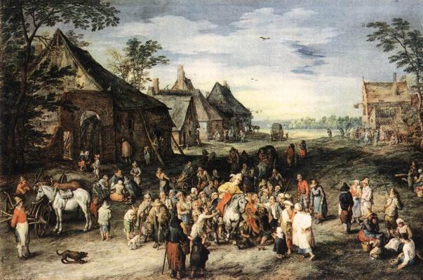 Jan Bruegel The Elder. Plot 4