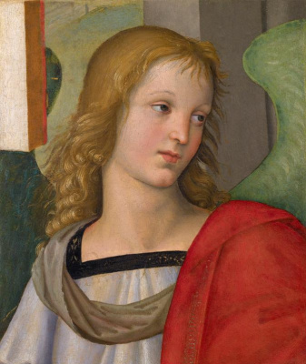 Raphael Santi. The head of the angel
