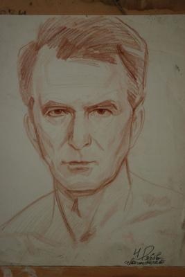 Николай Петрович Рябов. Автопортрет