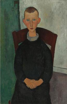 Amedeo Modigliani. Portrait of a landlord's son