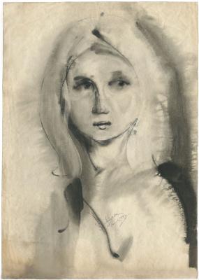 Alexandrovich Rudolf Pavlov. Ulyankina Nadya, 1971