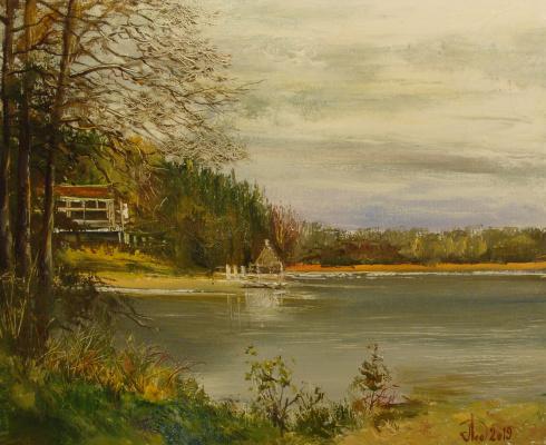 Alexander Alekseevich Lednev. Autumn shore