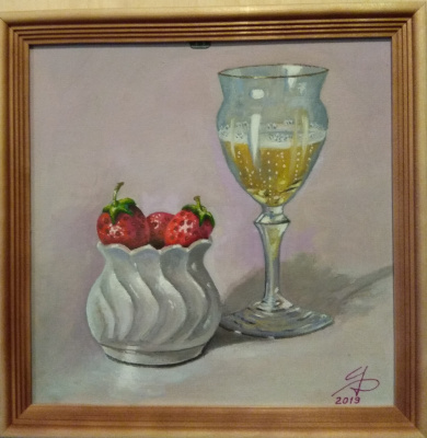 Dmitry Alexandrovich Tsvetaev. Strawberry