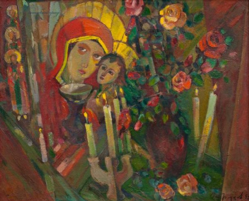 Vladimir Ivanovich Ostroukhov. Roses of memory
