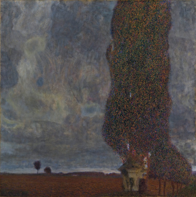 The big poplar II (thunderstorm Approaching)