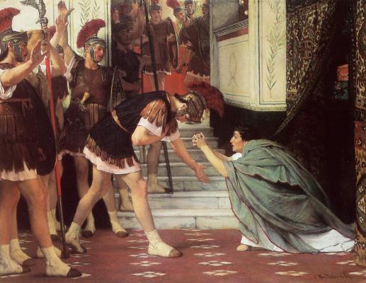 Лоуренс Альма-Тадема. Провозглашение Клавдия императором