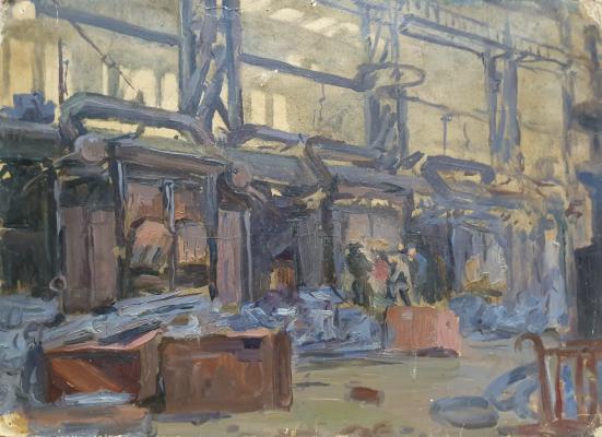 Lel Nikolaevich Kuzminkov. Study for Steelworkers