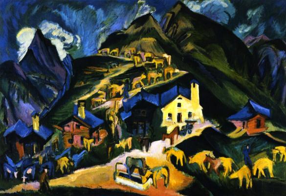 Ernst Ludwig Kirchner. Transhumance
