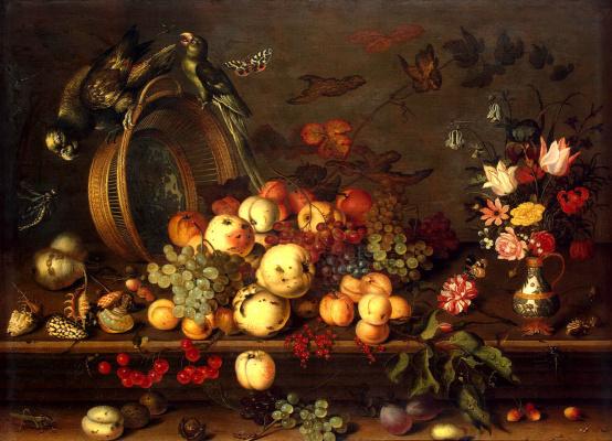 Балтазар ван дер Аст. Натюрморт с фруктами