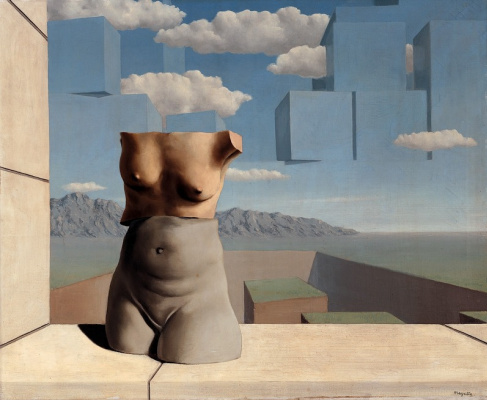 René Magritte. Summer marches