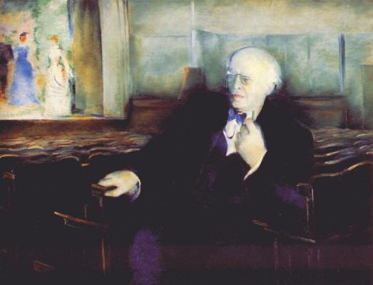 Петр Владимирович Вильямс. Портрет Станиславского