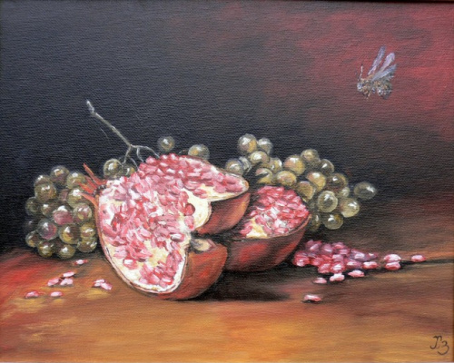 Sergei Nikolayevich Khodorenko-Zatonsky. Still Life with Pomegranate