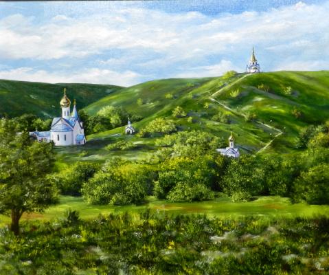Dmitry Vladimirovich Veklich. Holy Trinity Holkovsky Monastery