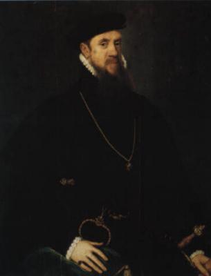Антонис ван Дасхорст Мор. Портрет Генри Фицалана, 12-го графа Арундела