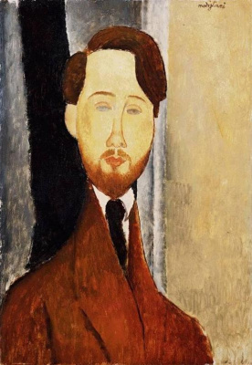 Amedeo Modigliani. Portrait Of Leopold Zborowski