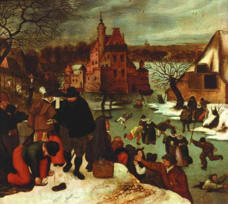 Peter Brueghel The Younger. Winter. Skating