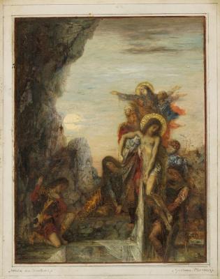 Gustave Moreau. Coffin
