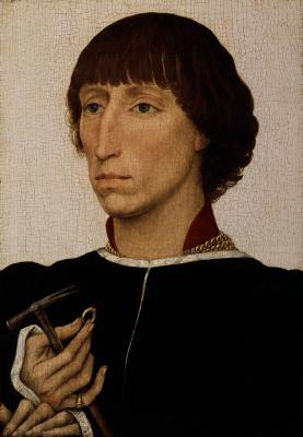 Rogier van der Weyden. Portrait of Francesco d'este