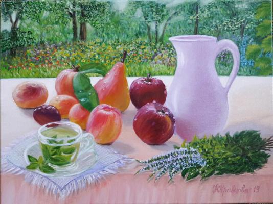 Nadezhda Nikolaevna Kravtsova. Gifts of summer