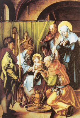 Albrecht Durer. The Circumcision Of Christ