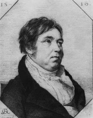 Orest Adamovich Kiprensky. Portrait of I.A. Krylov