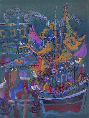 Эрни Кабат. Лодки