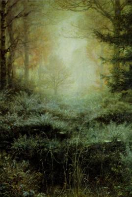 Джон Эверетт Милле. Лесной пейзаж