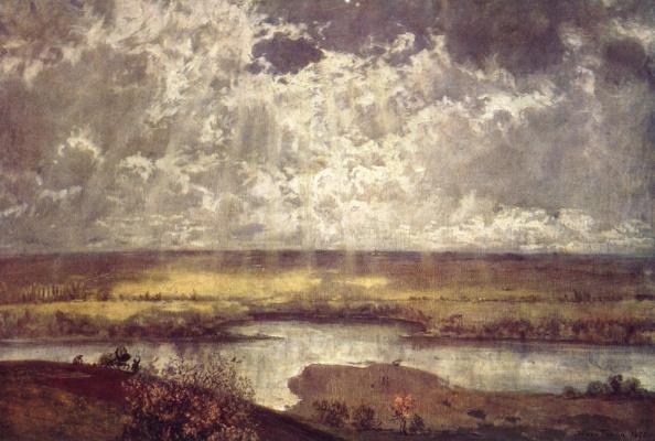 Ханс Тома. Пейзаж на Майне