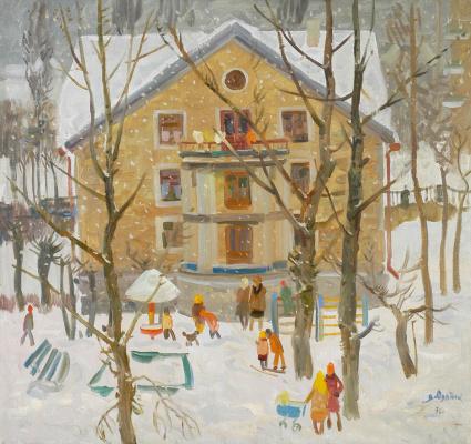 Vadim Ivanovich Odainik. Snow