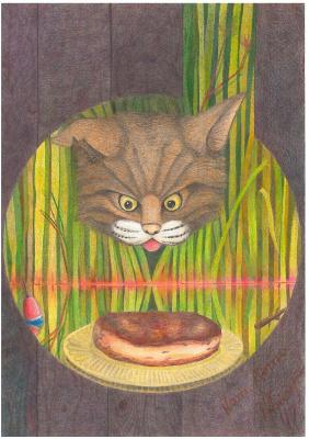 Konstantin Aleksandrovich Tokarev. Cat. Summer.