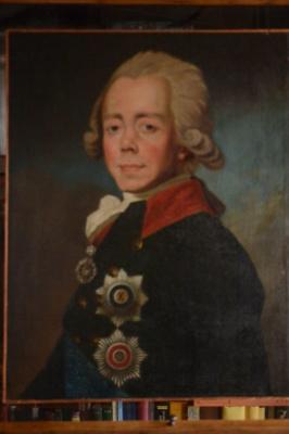 Неизвестный  художник. Портрет Павла