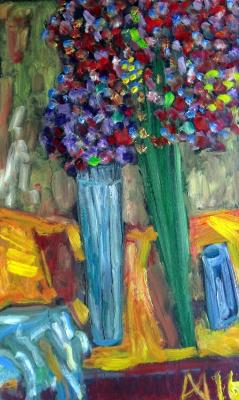 Murad Khalilov. Two of the bouquet