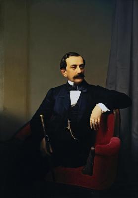 Sergey Konstantinovich Zaryanka. Portrait of Prince Nikolai Borisovich Yusupov