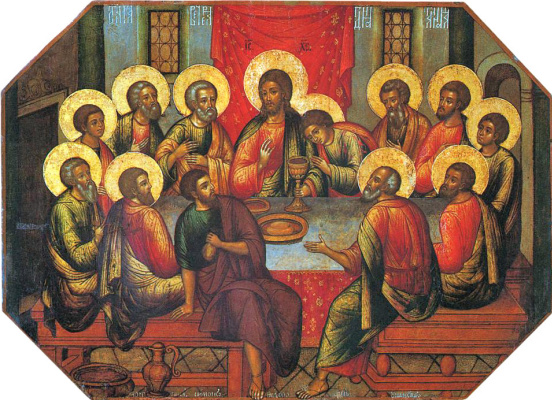 Simon Ushakov. Last Supper