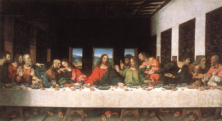 Unknown artist. Last Supper (copy)