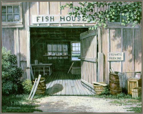 Кервуд Харрисон. Рыбный дом