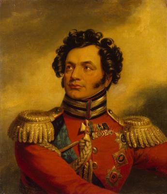 George Dow. Portrait Of Fyodor P. Uvarov