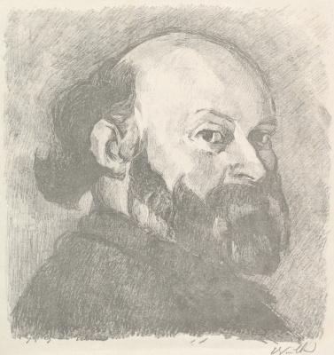 Jean Edouard Vuillard. Paul Cezanne