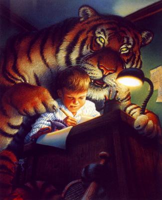 Тим Джесселл. Тигр