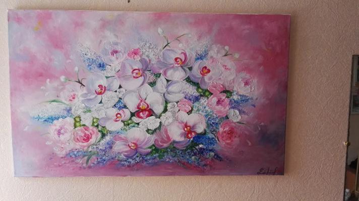 Алина Евгеньевна Шварёва (Галкина). Bouquet of orchids