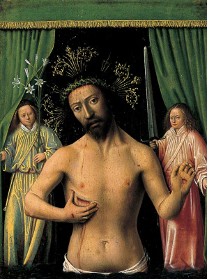 Petrus Christus. The man of sorrows