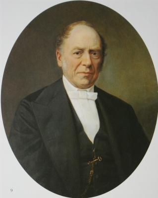 Nikolai Vasilyevich Nevrev. Male portrait. 1869