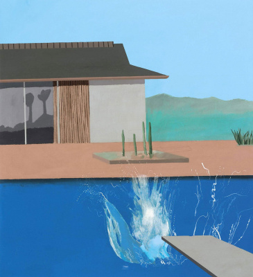 David Hockney. The Splash
