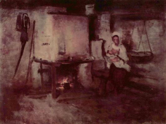 Nicolae Grigorescu. Home in Rukara