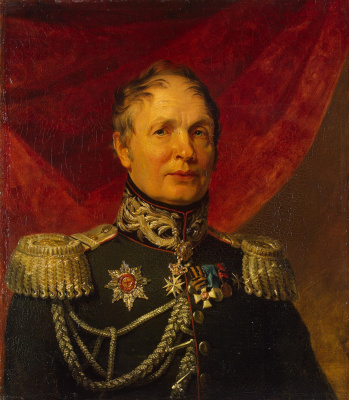 George Dow. Portrait of Mikhail Stepanovich Vistitsky