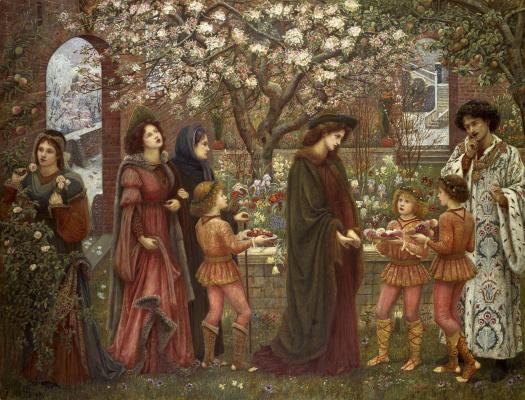Мария Евфросина Спартали Стиллман. The Enchanted Garden of Messer Ansaldo